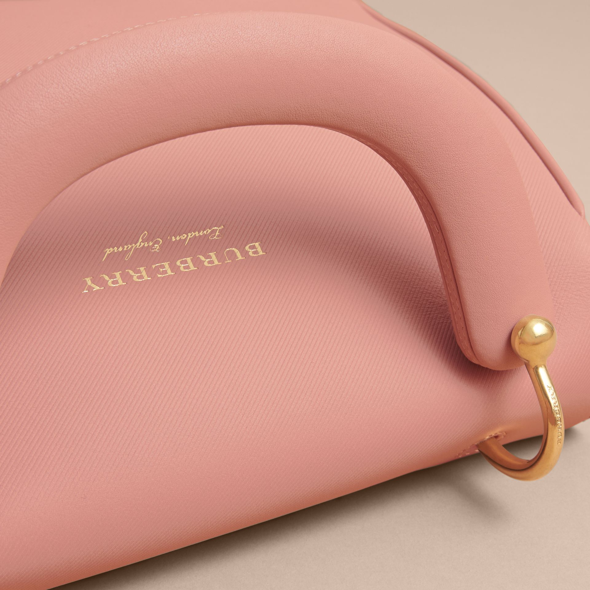 The Medium DK88 Top Handle Bag in Ash Rose - Women | Burberry - gallery image 1