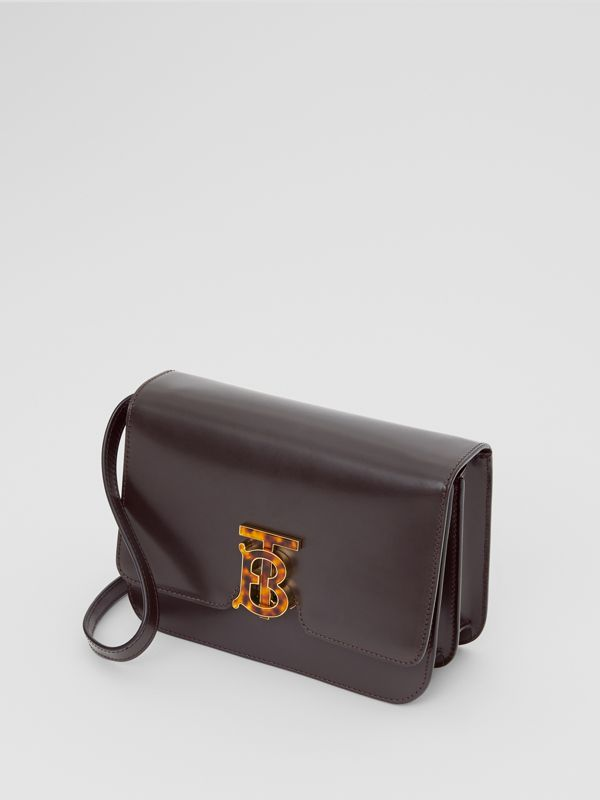Small Leather TB Bag in Coffee - Women | Burberry Hong Kong - cell image 3