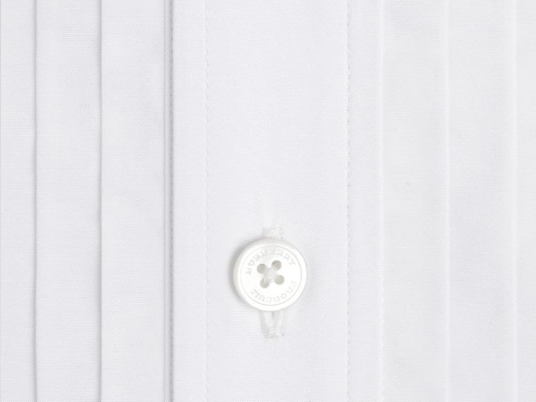 Optic white Slim Fit Cotton Dress Shirt - cell image 1