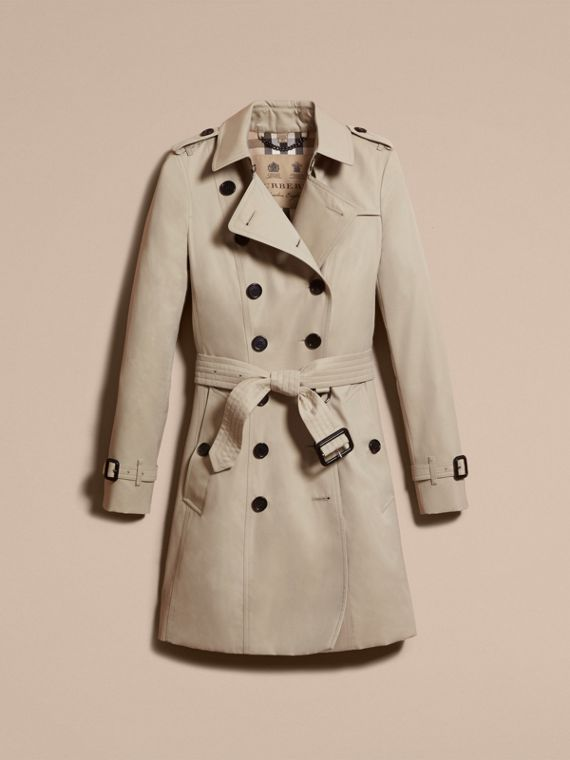 Stone The Chelsea – Mid-length Heritage Trench Coat Stone - cell image 3