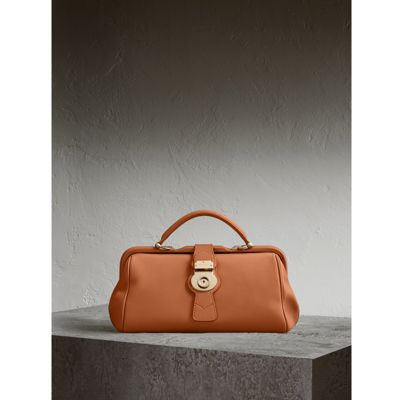 The Trench leather bowling bag