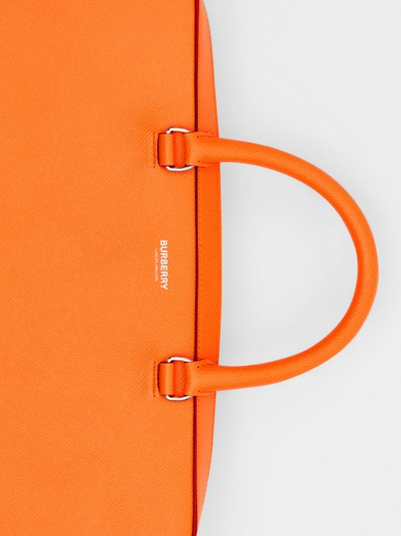 Aktentasche aus genarbtem Leder (Leuchtendes Orange) - Herren | Burberry - cell image 1