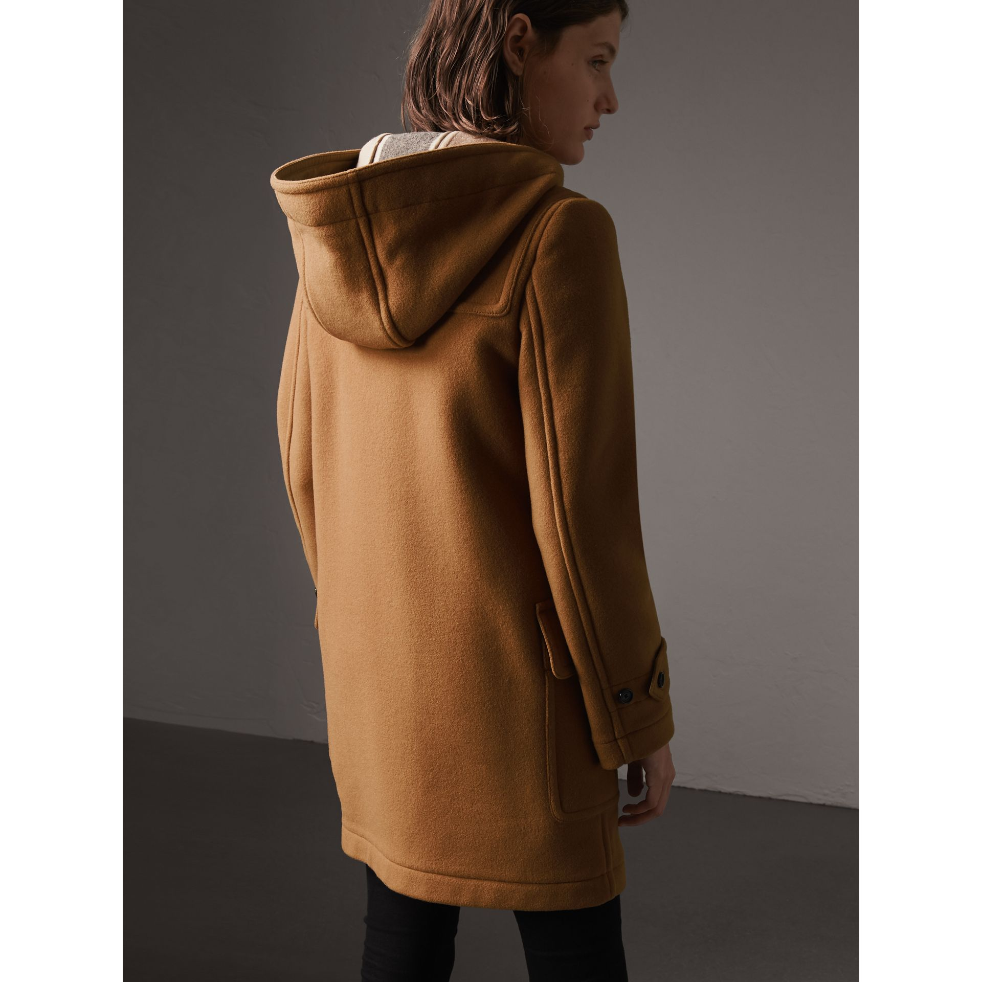 The Mersey Duffle Coat in Mid Camel - Women | Burberry Singapore - gallery image 2