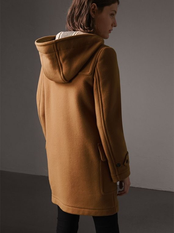 The Mersey Duffle Coat in Mid Camel - Women | Burberry Australia - cell image 2