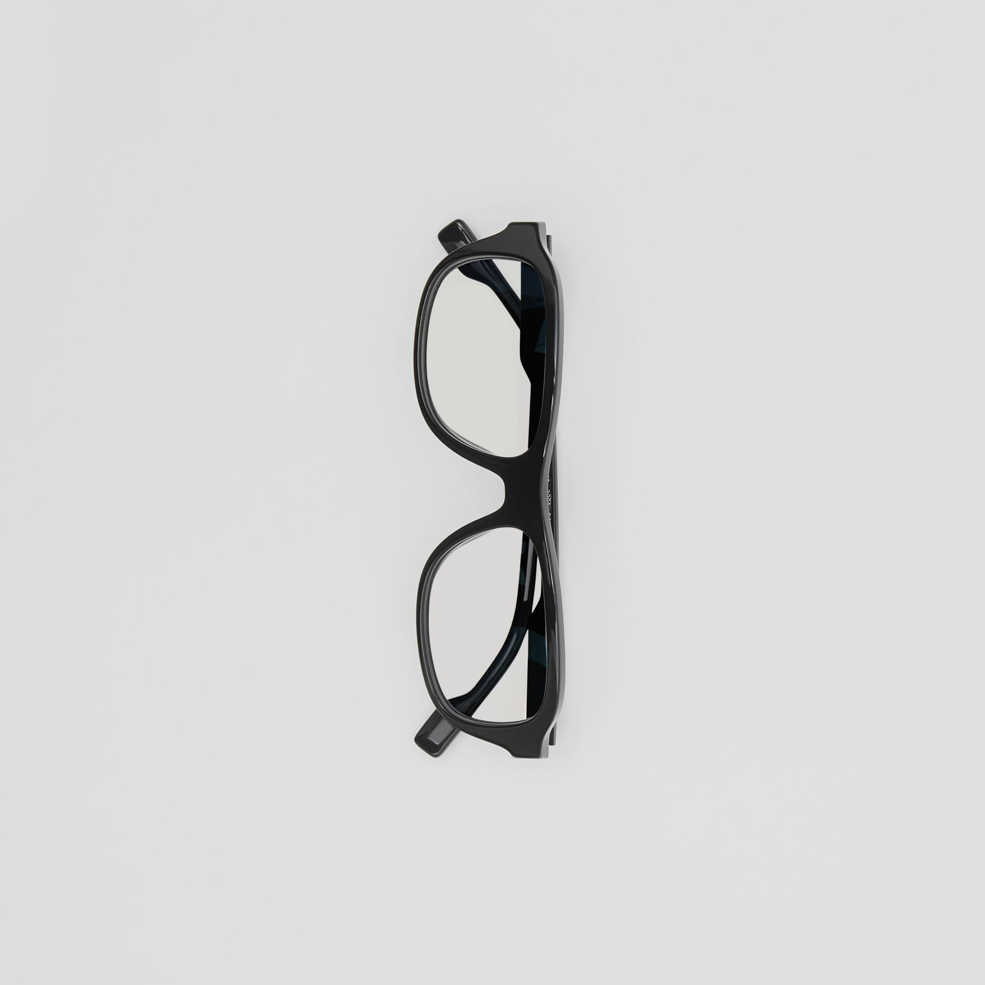 Rectangular Optical Frames in Black - Men | Burberry - gallery image 3