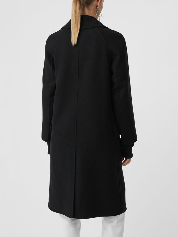 Double-faced Cashmere Tailored Coat in Black - Women | Burberry Singapore - cell image 2