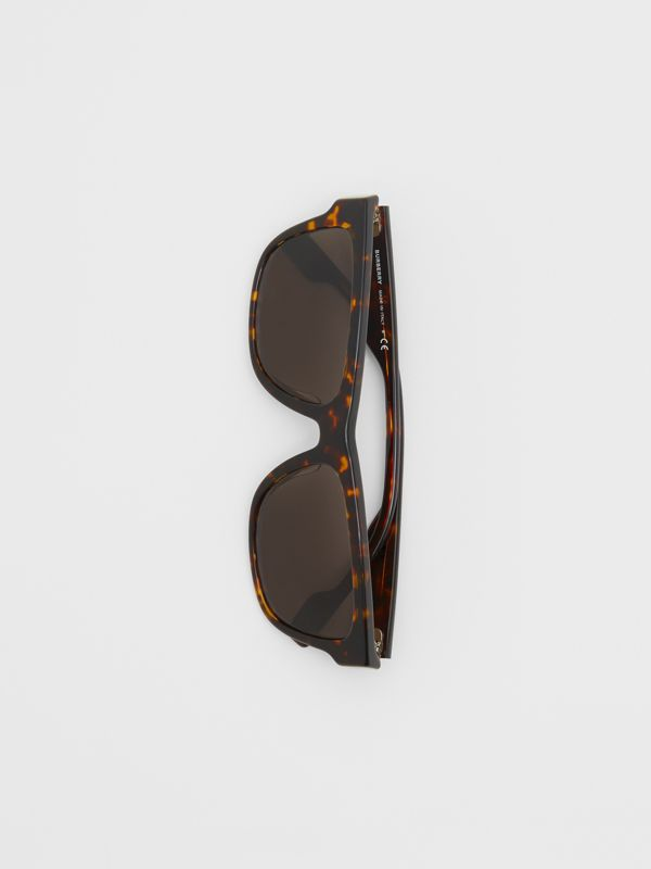 Square Frame Sunglasses in Tortoiseshell - Men | Burberry - cell image 2