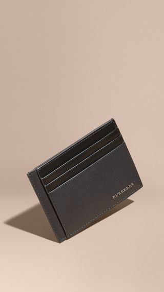 Colour Block London Leather Card Case