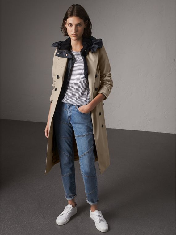 The Sandringham - Trench coat extra longo (Areia)