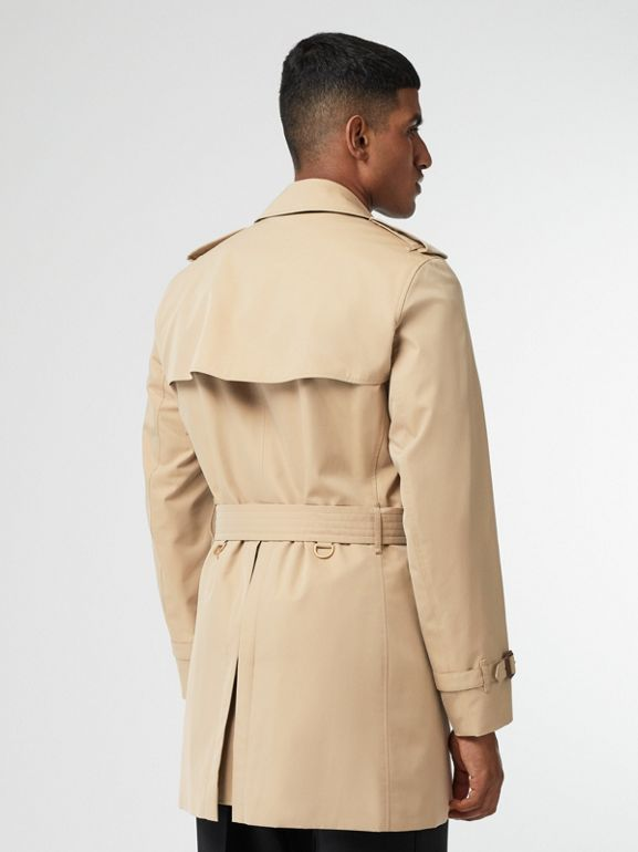 Short Chelsea Fit Trench Coat in Honey - Men | Burberry - cell image 1