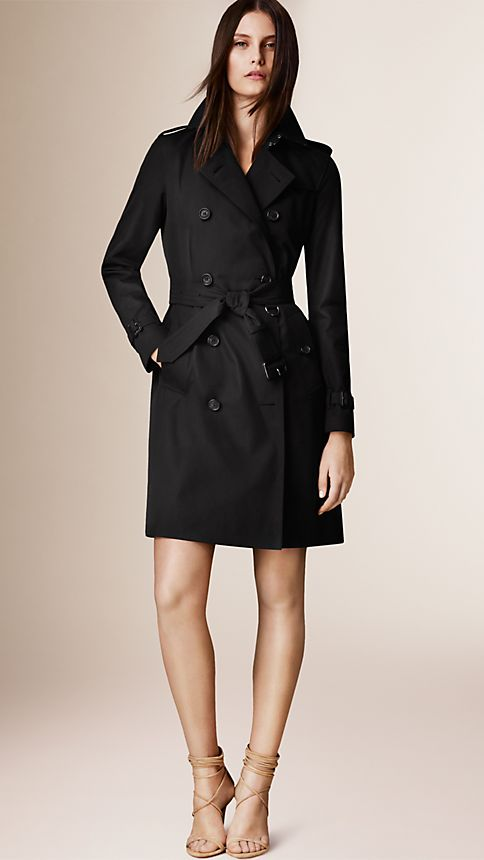 Honey The Kensington - Long Heritage Trench Coat - Image 1