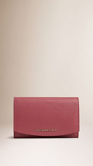 Patent London Leather Foldover Wallet