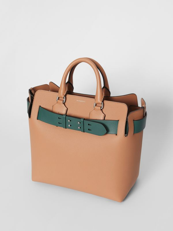 The Medium Leather Belt Bag in Light Camel - Women | Burberry United Kingdom - cell image 2