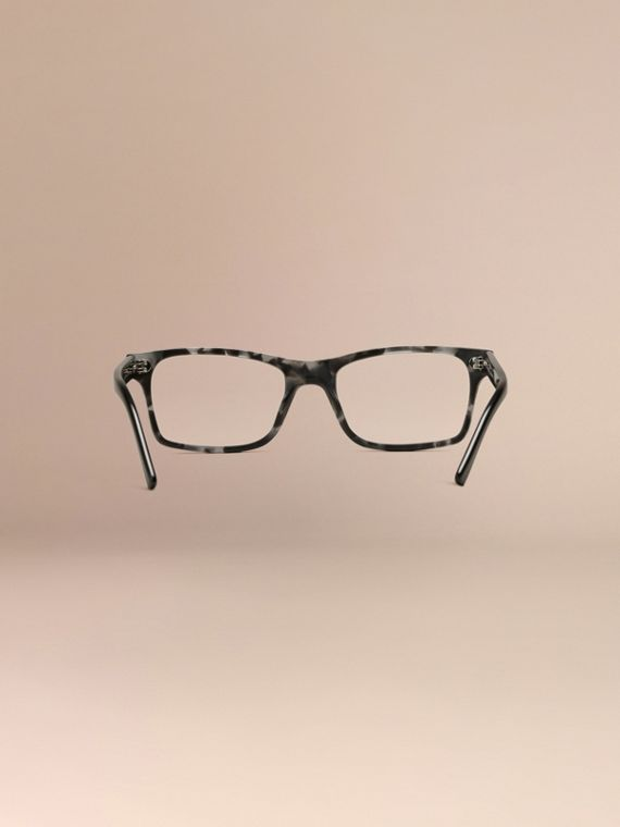 Rectangular Optical Frames Pale Grey Melange - cell image 3