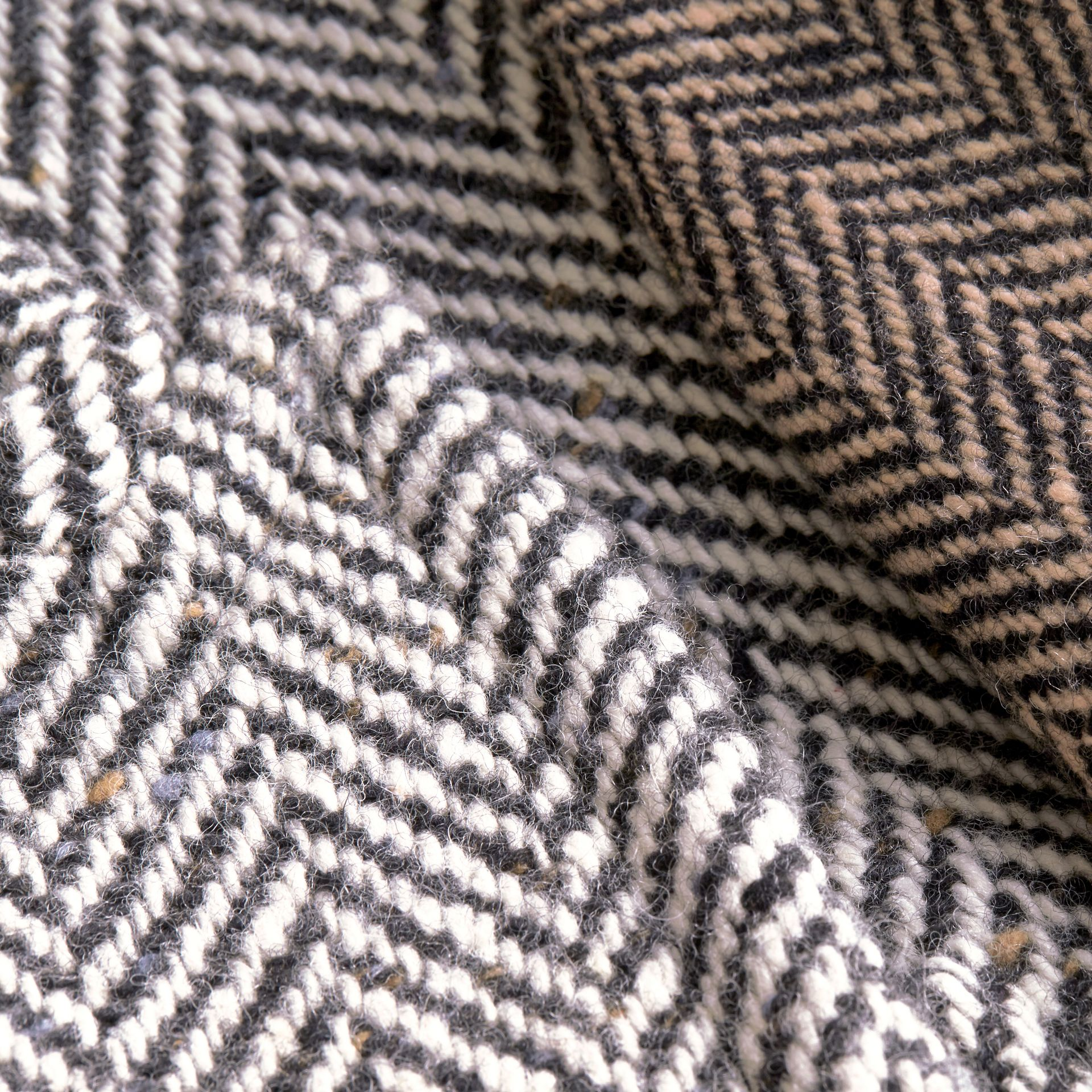 Donegal Herringbone Wool Tweed Chesterfield - gallery image 2