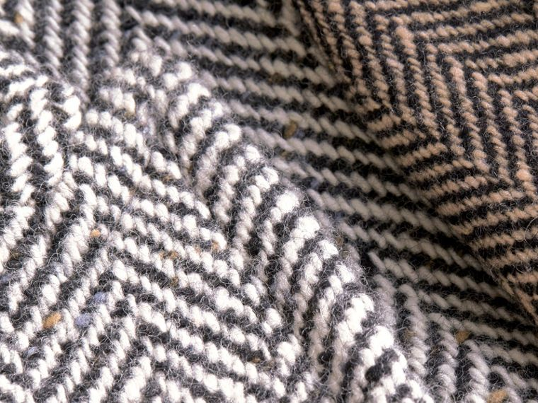 Donegal Herringbone Wool Tweed Chesterfield - cell image 1