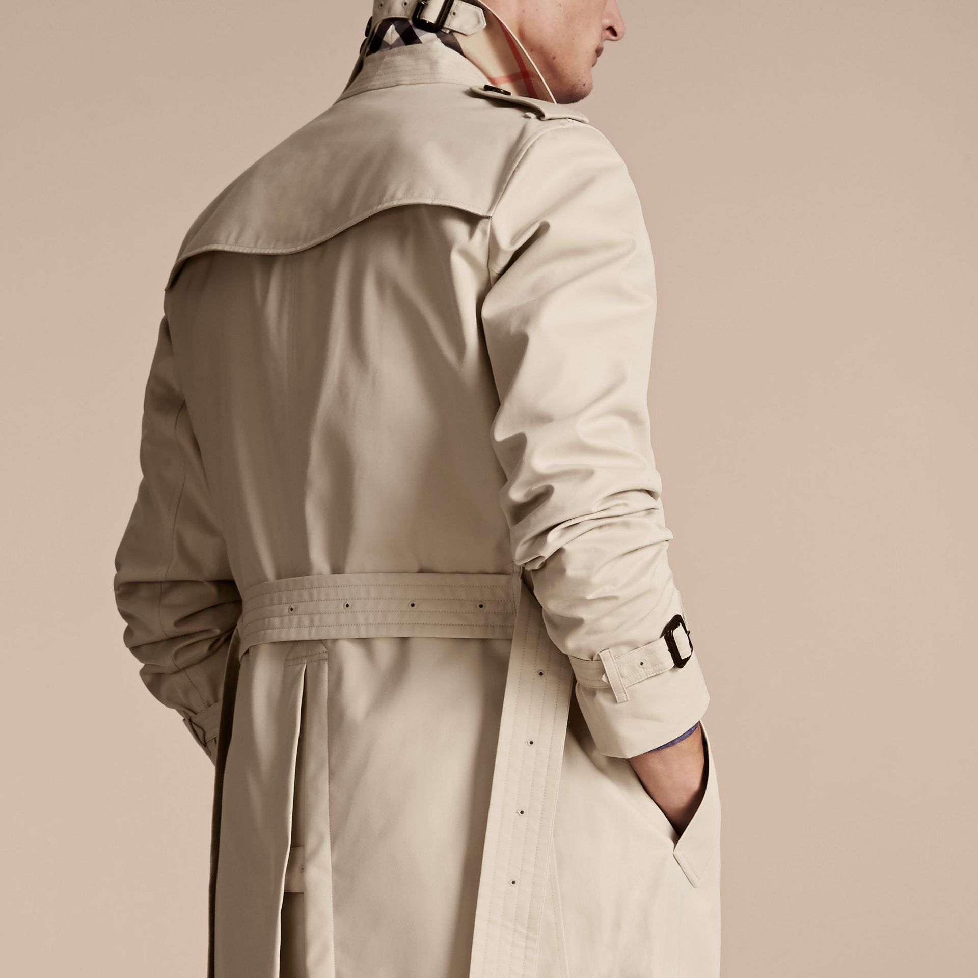 Stone Trench-coat Heritage long The Chelsea Stone - photo de la galerie 6