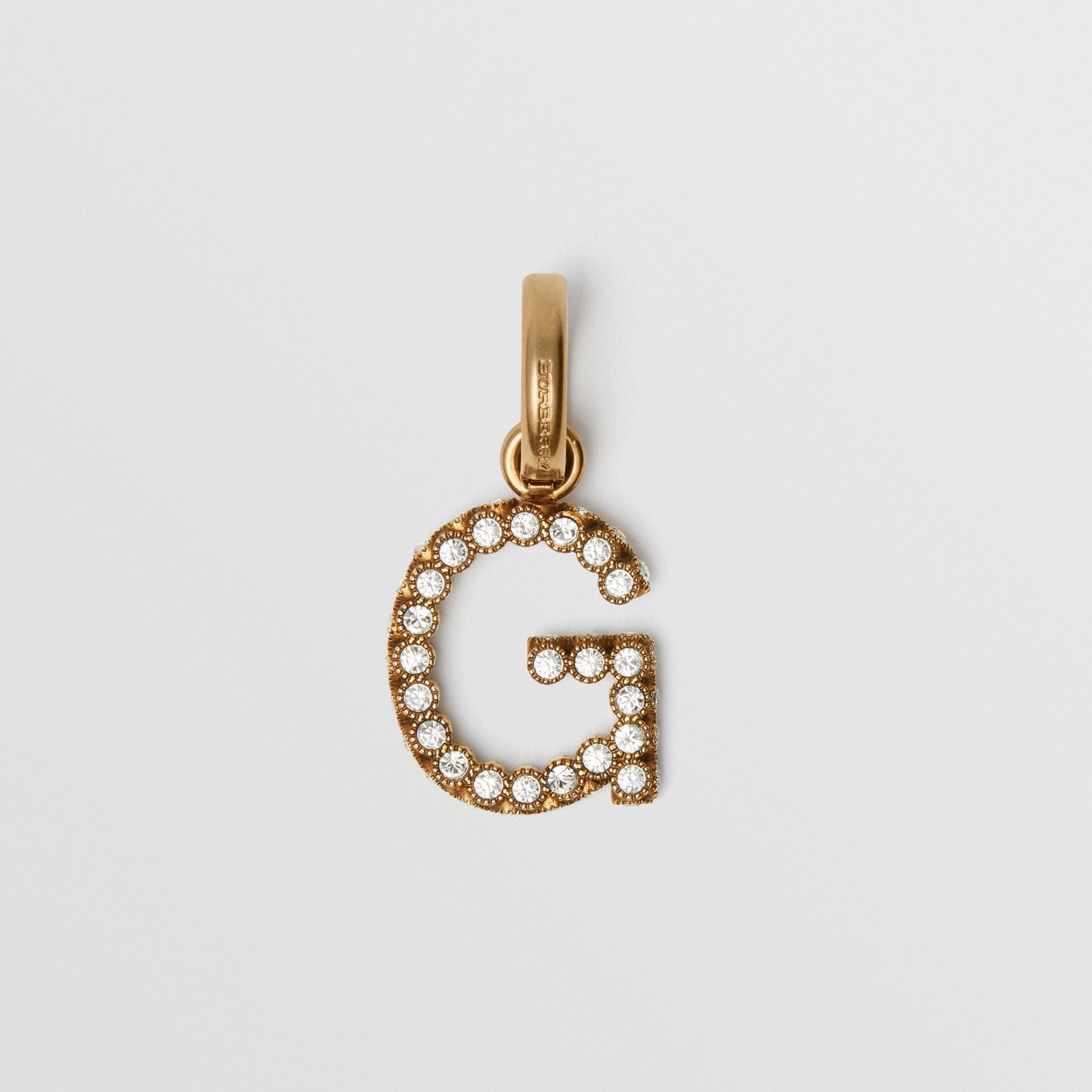 Crystal 'G' Alphabet Charm - Women | Burberry United Kingdom - gallery image 0