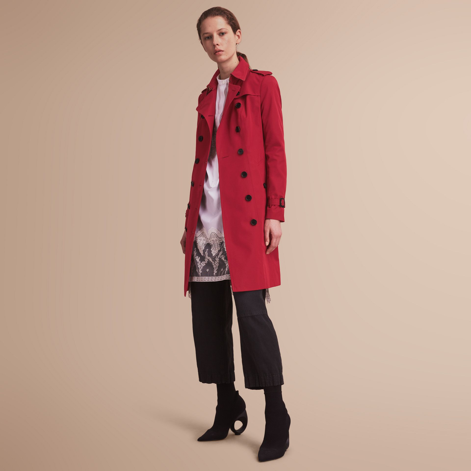The Sandringham  – Long Heritage Trench Coat - gallery image 7