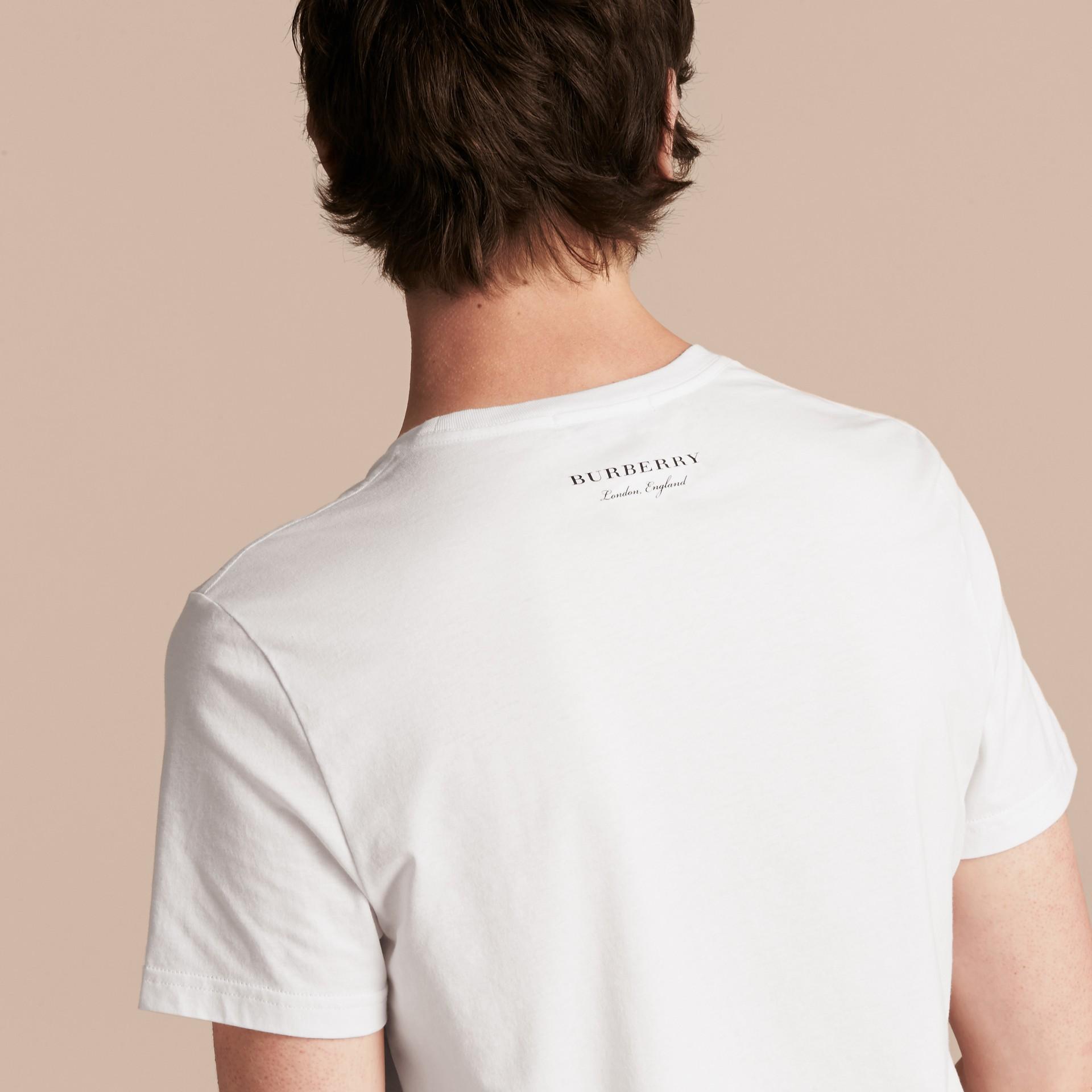 Weather Appliqué Cotton T-shirt - gallery image 3