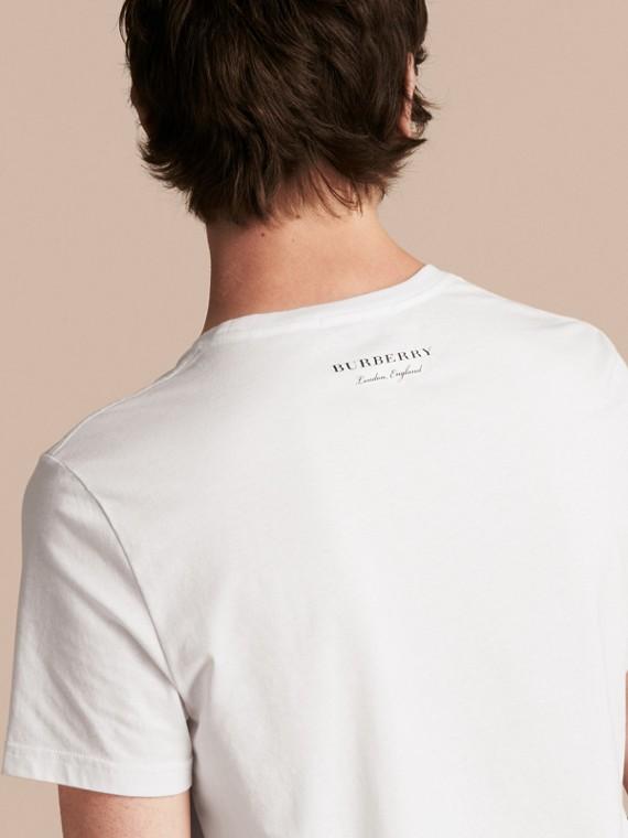 Weather Appliqué Cotton T-shirt - cell image 2