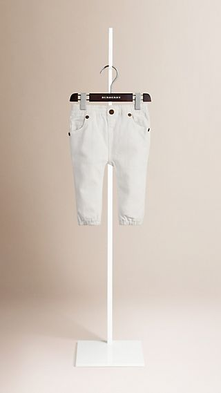 Jean en denim extensible
