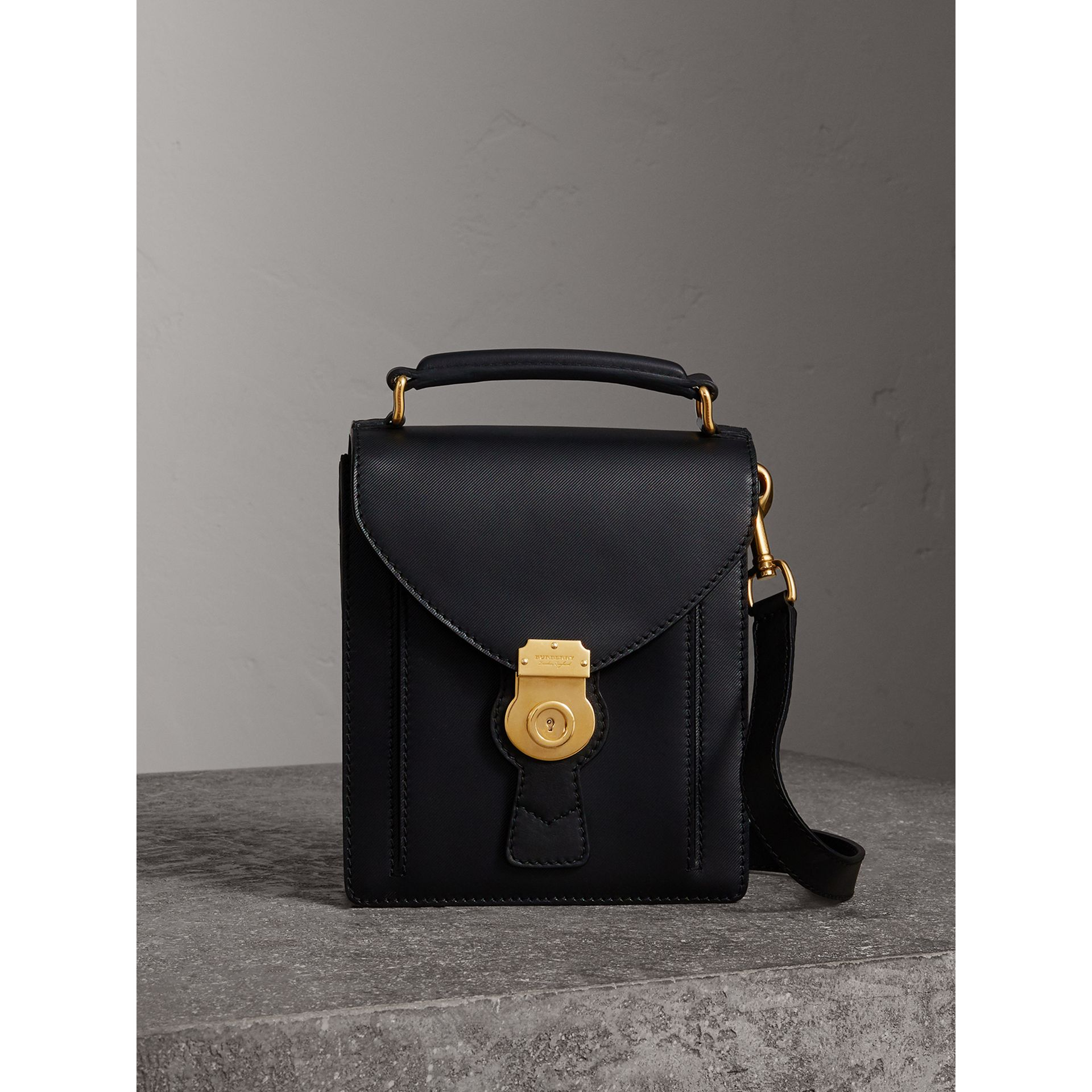 The Small DK88 Satchel in Black - Men | Burberry - gallery image 1