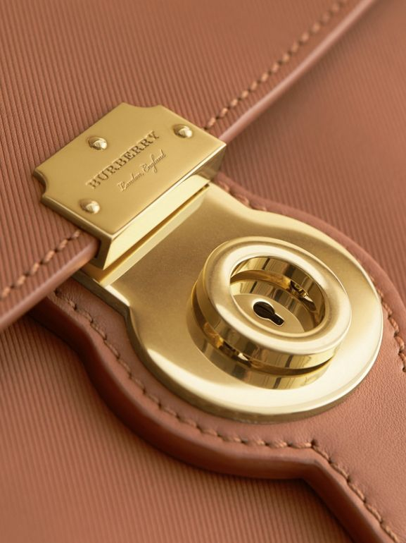 The Large DK88 Top Handle Bag in Bright Toffee - Women | Burberry - cell image 1