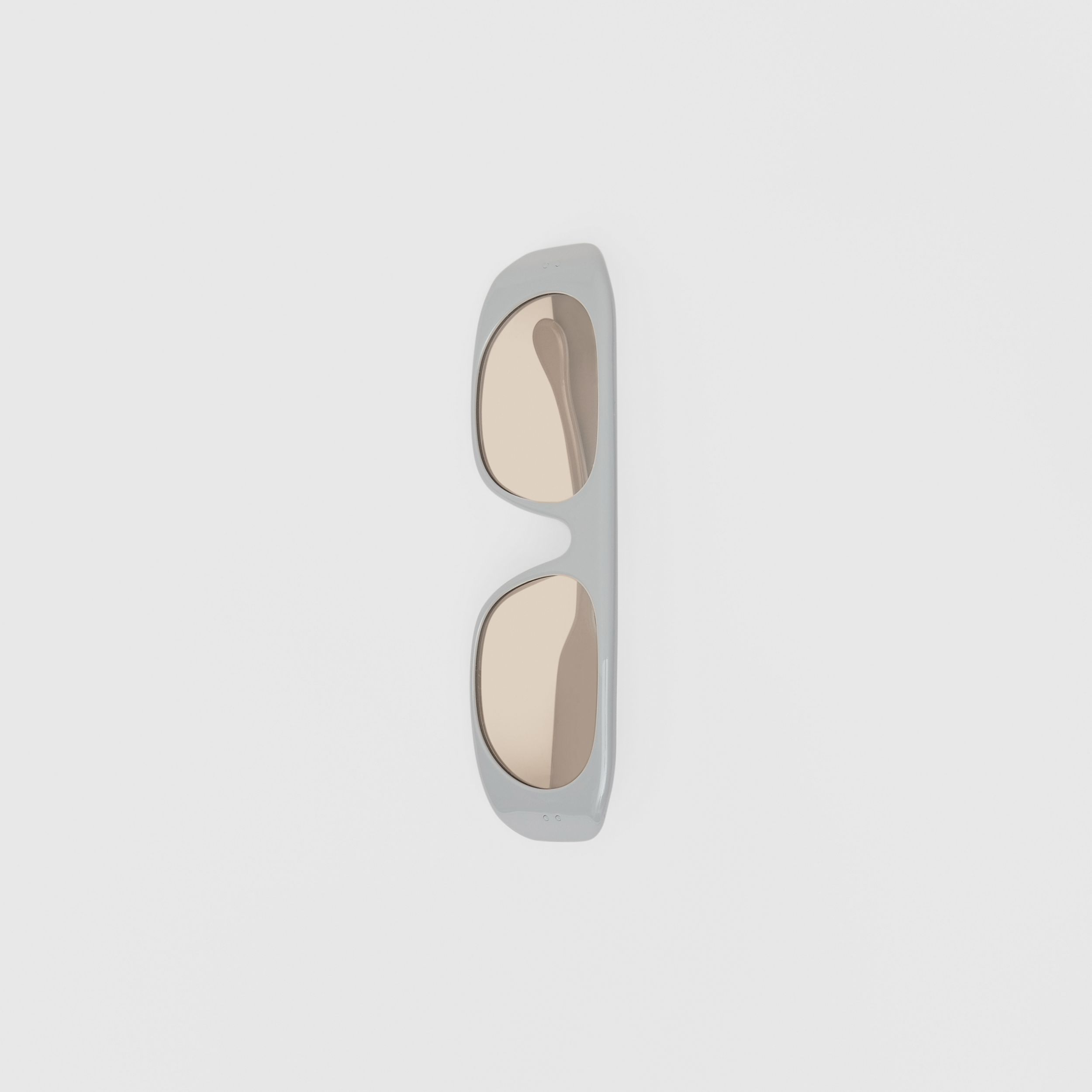 Blake Sunglasses in Grey | Burberry - 4