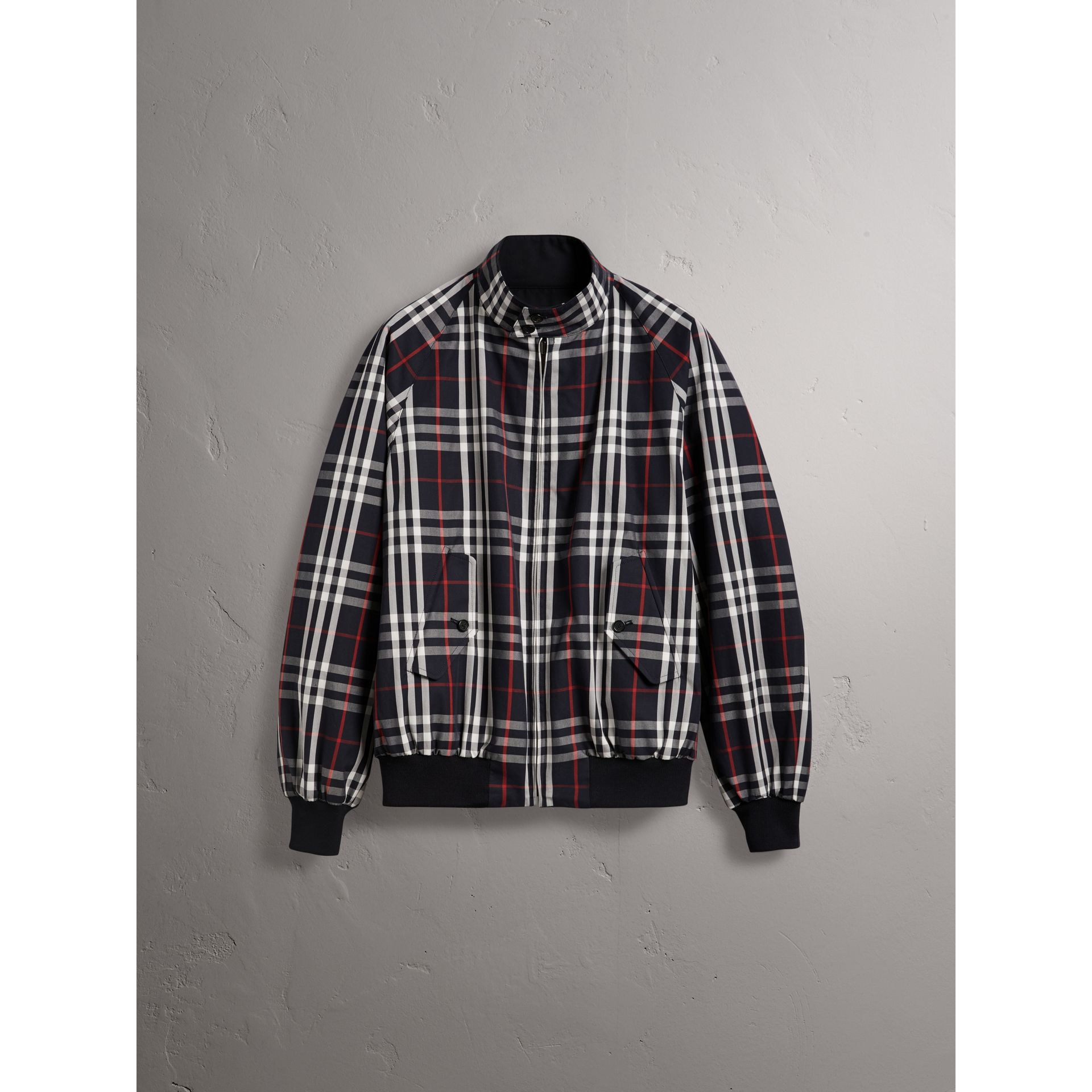 Gosha x Burberry Reversible Harrington Jacket in Navy | Burberry - gallery image 8
