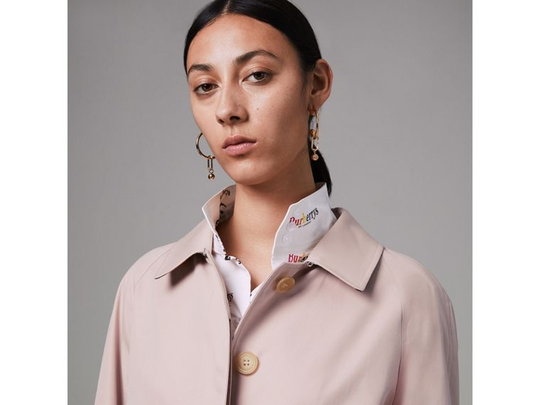 The Camden Car Coat in Ice Pink - Women | Burberry - cell image 1
