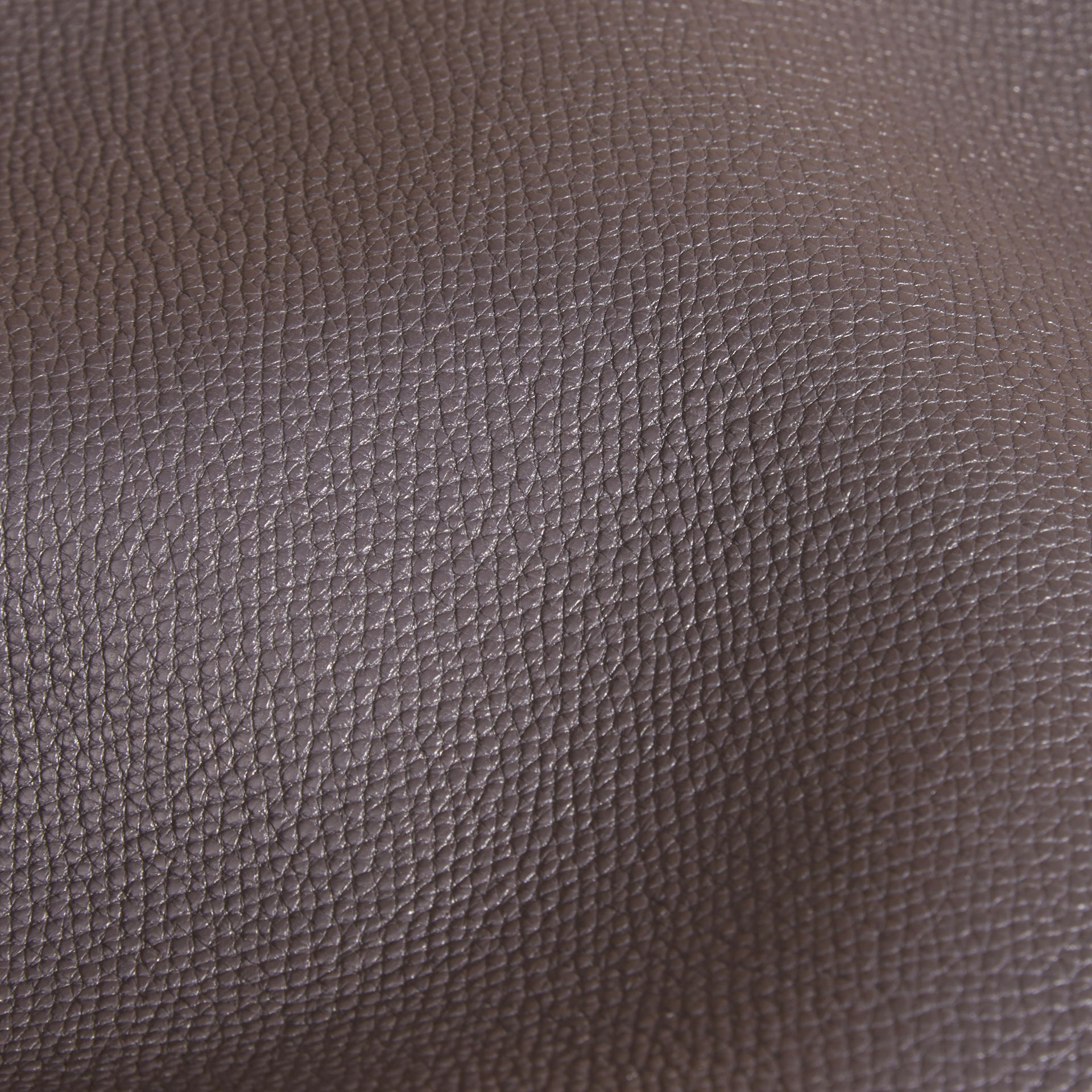 Sepia grey The Saddle Clutch in Grainy Bonded Leather Sepia Grey - gallery image 2