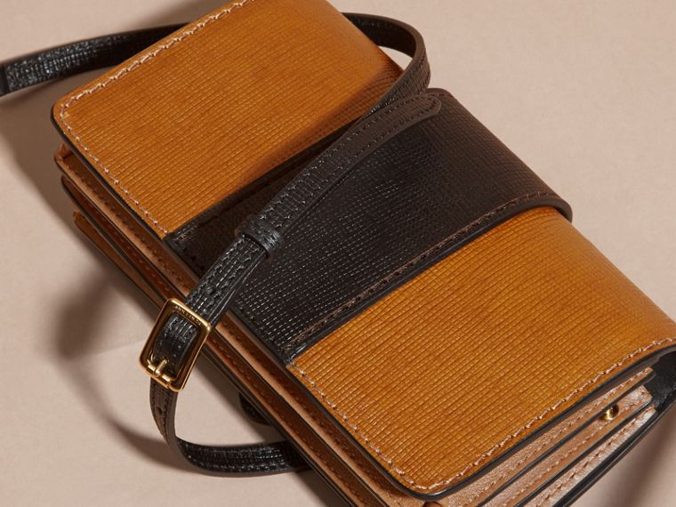 The Small Buckle Bag in Grainy Leather - cell image 4