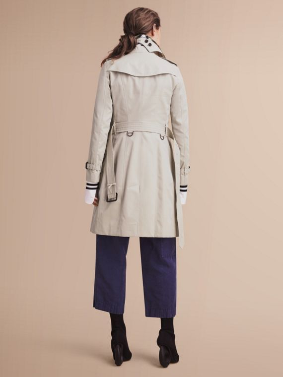 The Sandringham – Long Heritage Trench Coat in Stone - cell image 2