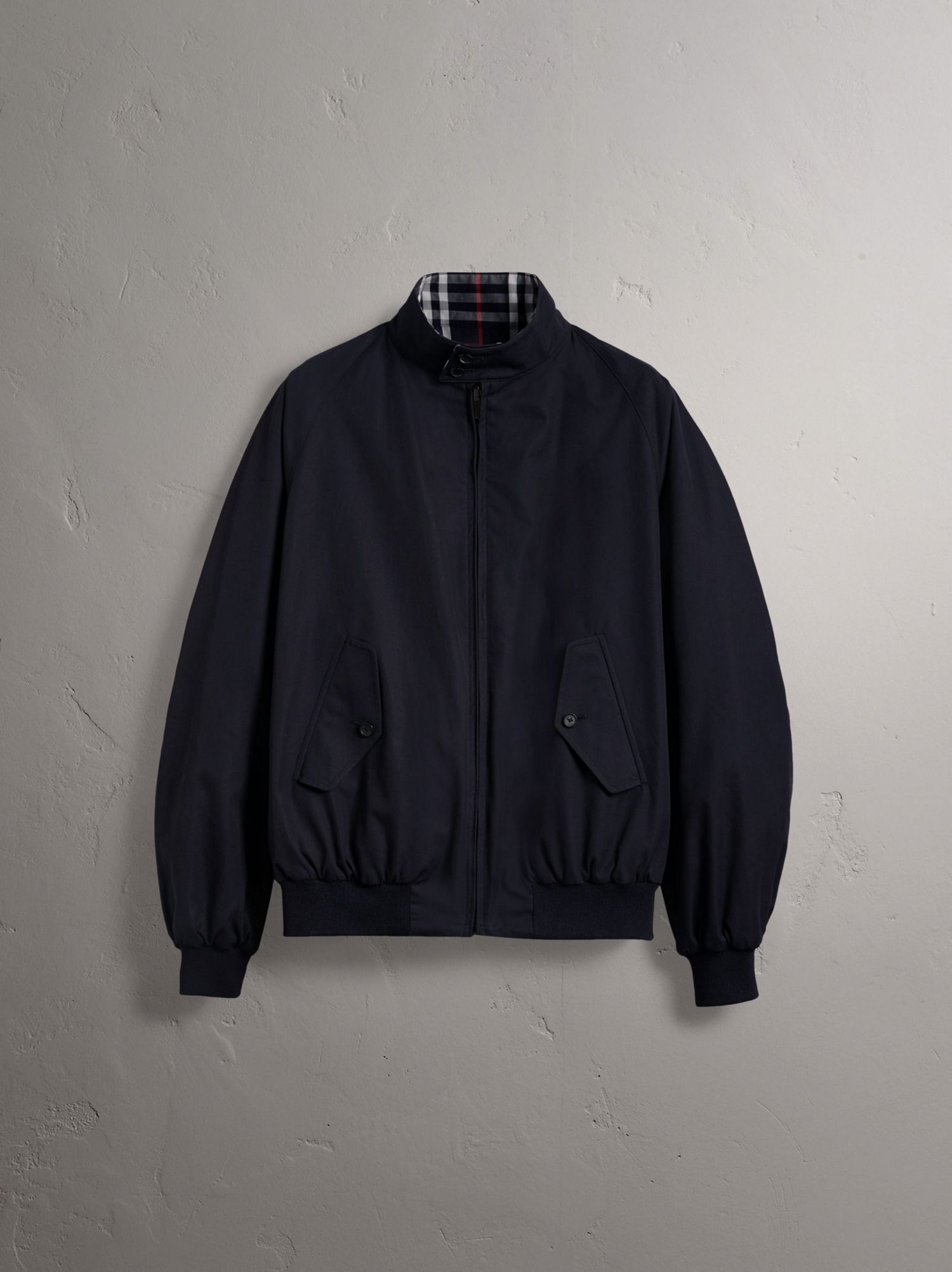Gosha x Burberry Reversible Harrington Jacket in Navy