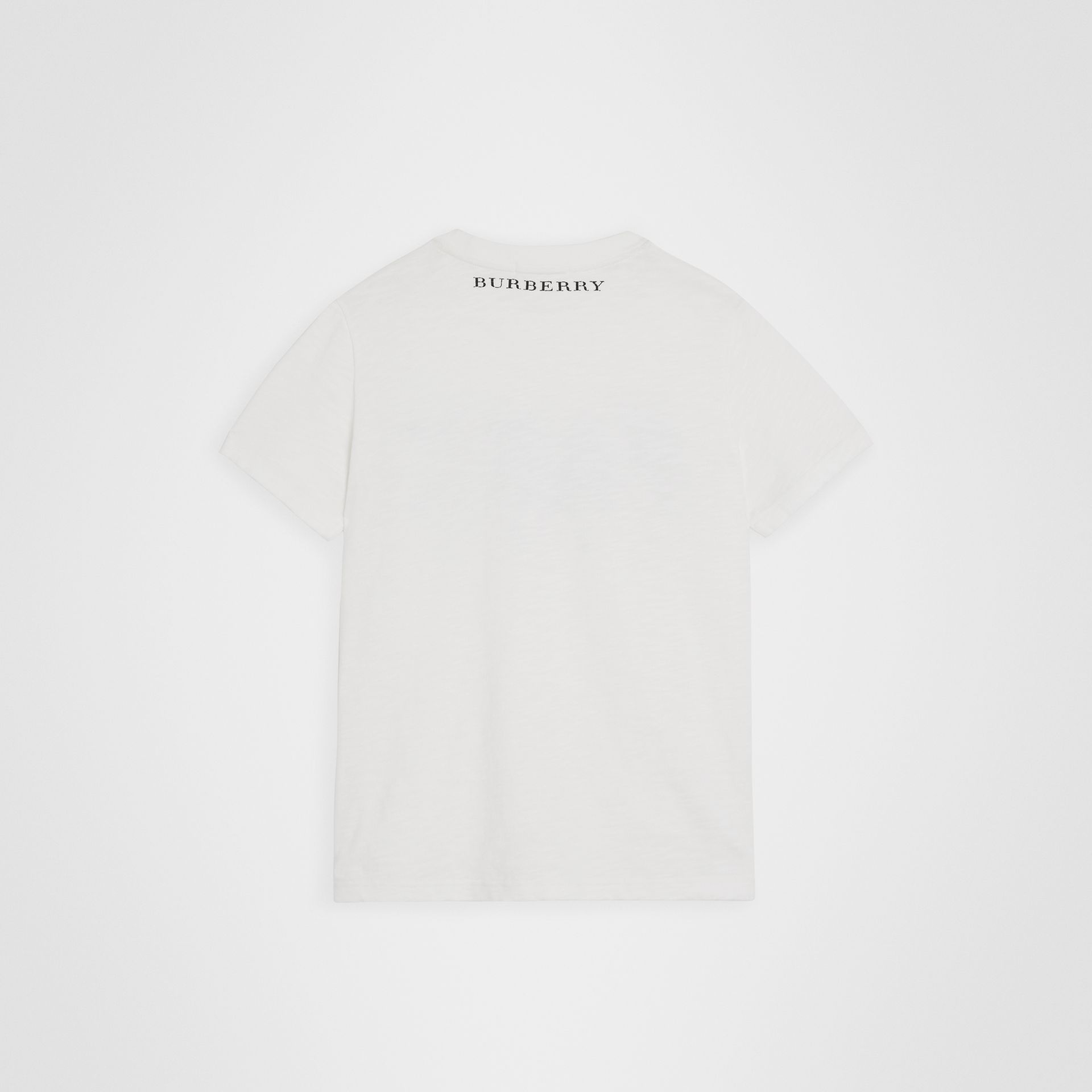 Skate Park Life Cotton T-shirt in White | Burberry United States - gallery image 3