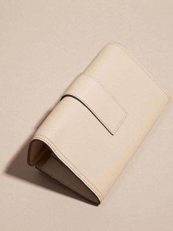 Limestone Textured Leather Continental Wallet Limestone - cell image 2