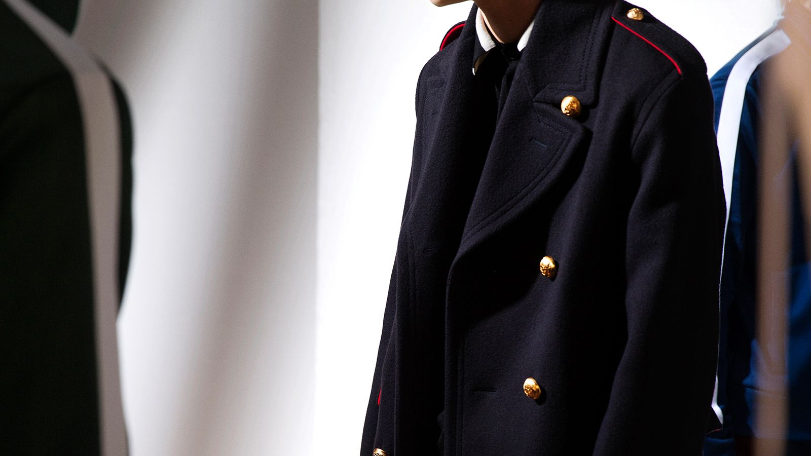 THE MILITARY TOPCOAT