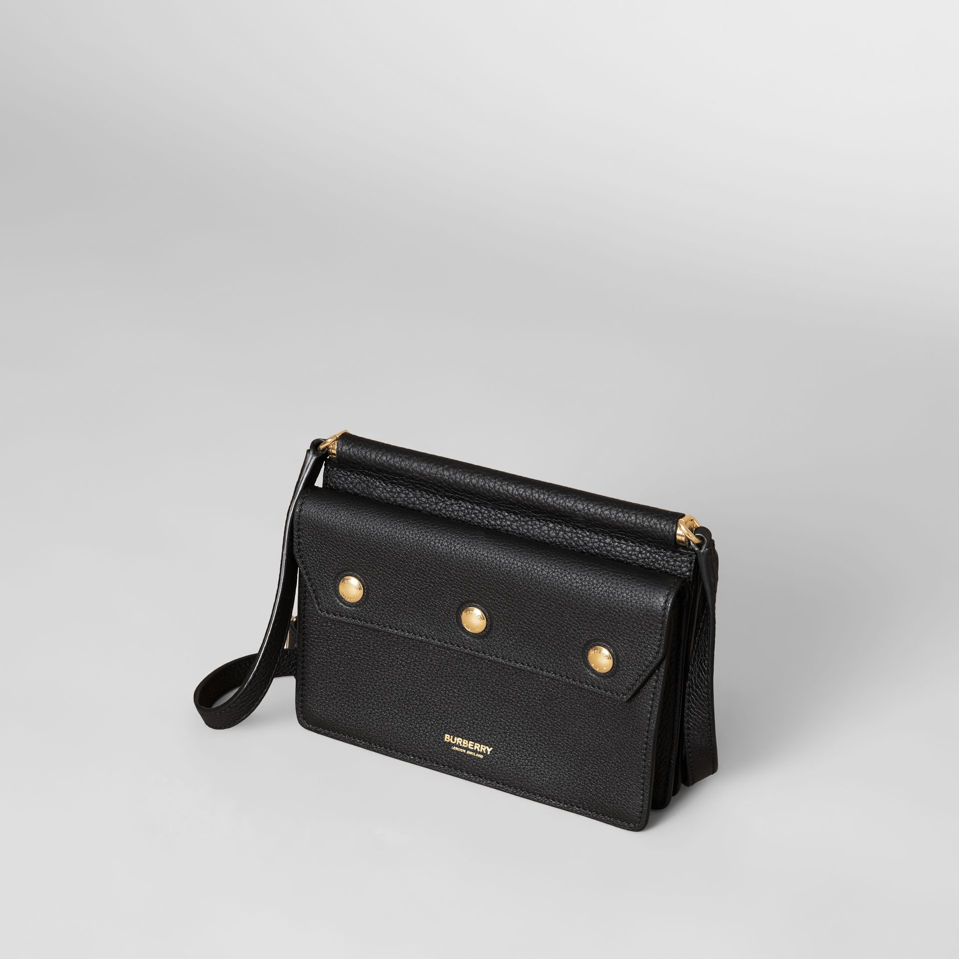 Mini Leather Title Bag in Black - Women | Burberry Hong Kong S.A.R. - gallery image 3