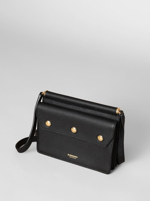 Mini Leather Title Bag in Black - Women | Burberry Hong Kong S.A.R. - cell image 3
