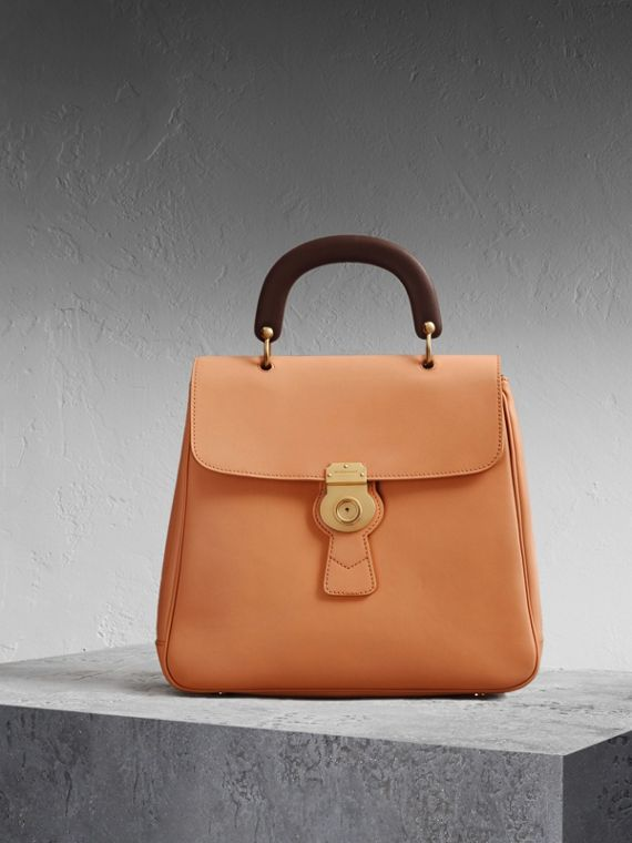 The Large DK88 Top Handle Bag Pale Clementine
