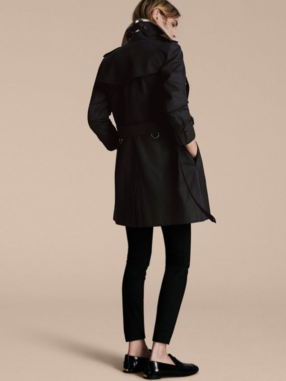 Black The Westminster – Mid-Length Heritage Trench Coat Black - cell image 2