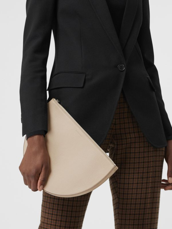 Pochette The D Clutch in pelle (Pietra) - Donna | Burberry - cell image 3