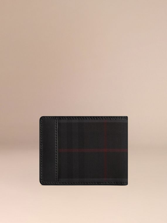 Charcoal/black Horseferry Check Wallet Charcoal/black - cell image 2