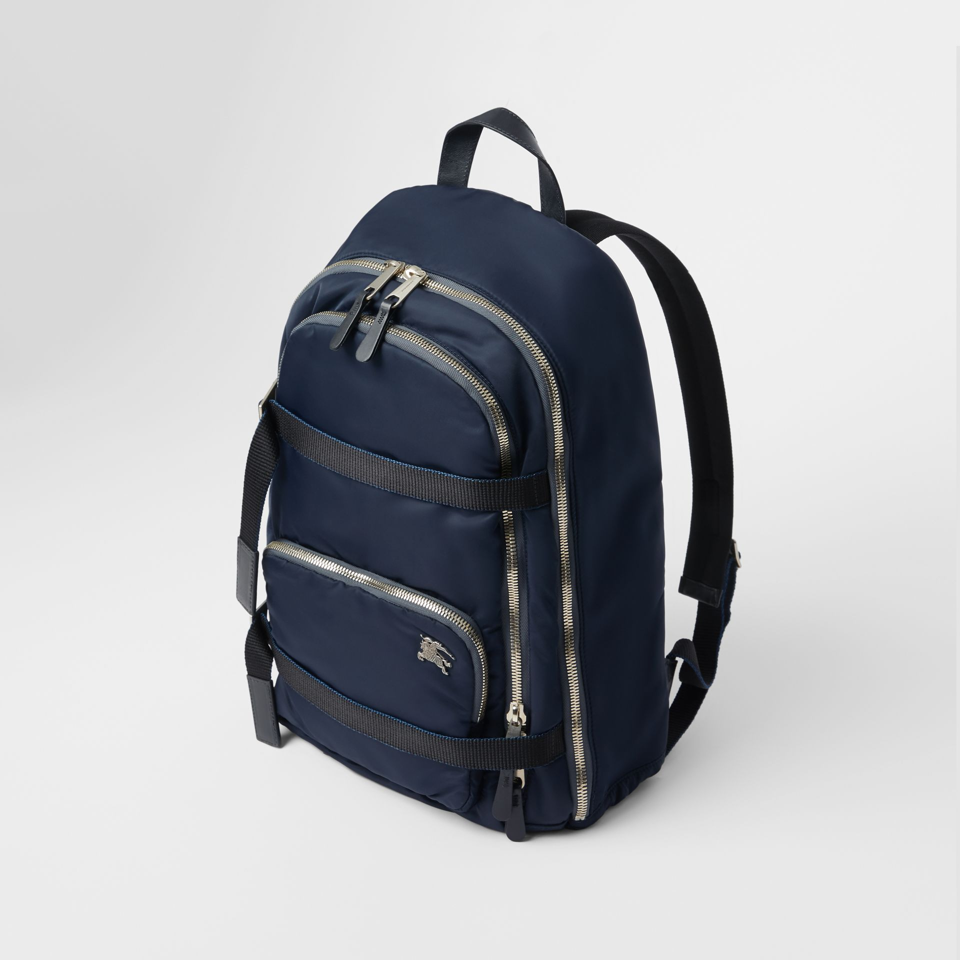 Large EKD Aviator Nylon Backpack in Ink Blue - Men | Burberry - gallery image 2