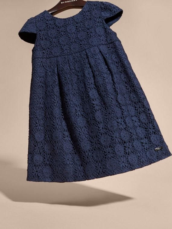 English Lace Dress in Navy - cell image 2