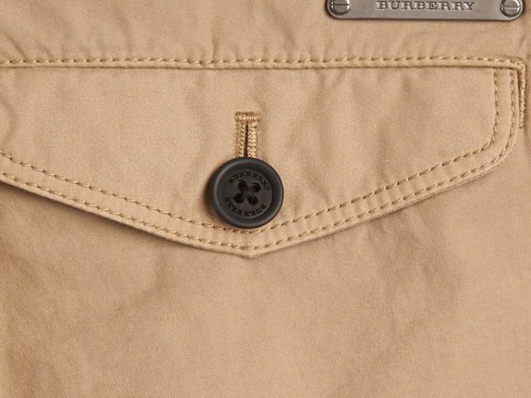 Miel Pantalon chino léger en sergé de coton - cell image 1
