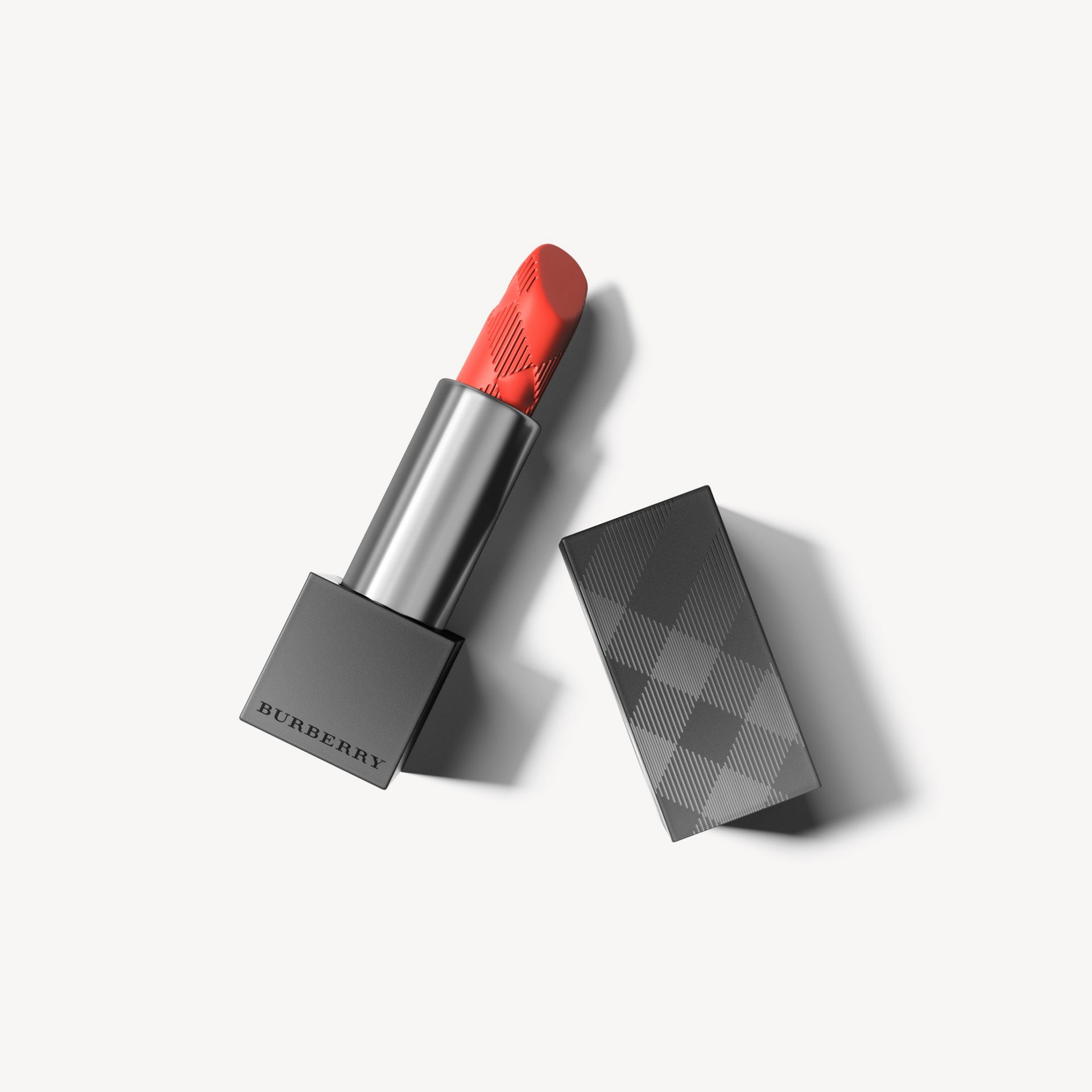 Lip Velvet Coral Orange No.411 - Femme | Burberry - photo de la galerie 1