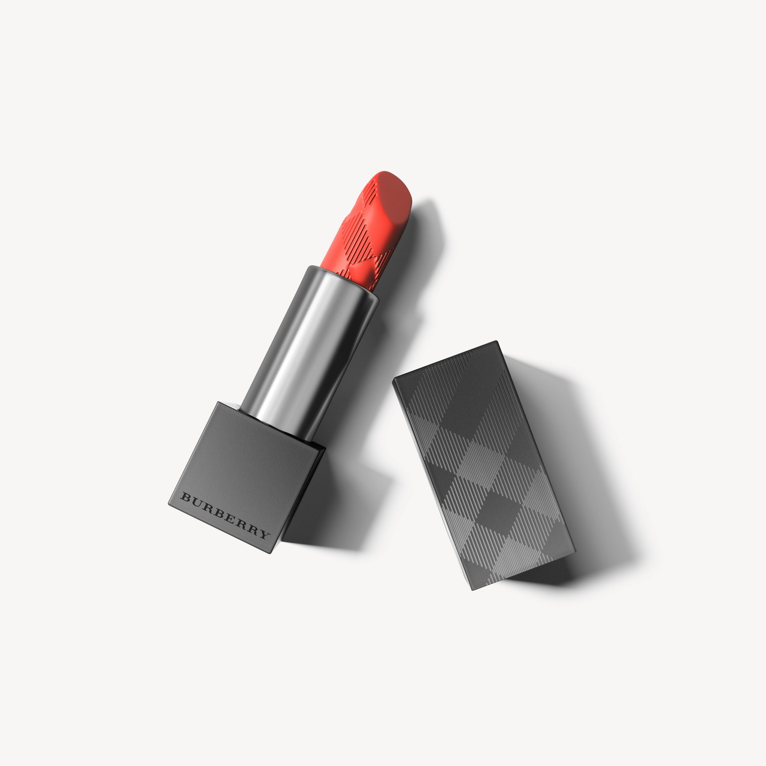 Lip Velvet Coral Orange No.411 - Women | Burberry United States - 1