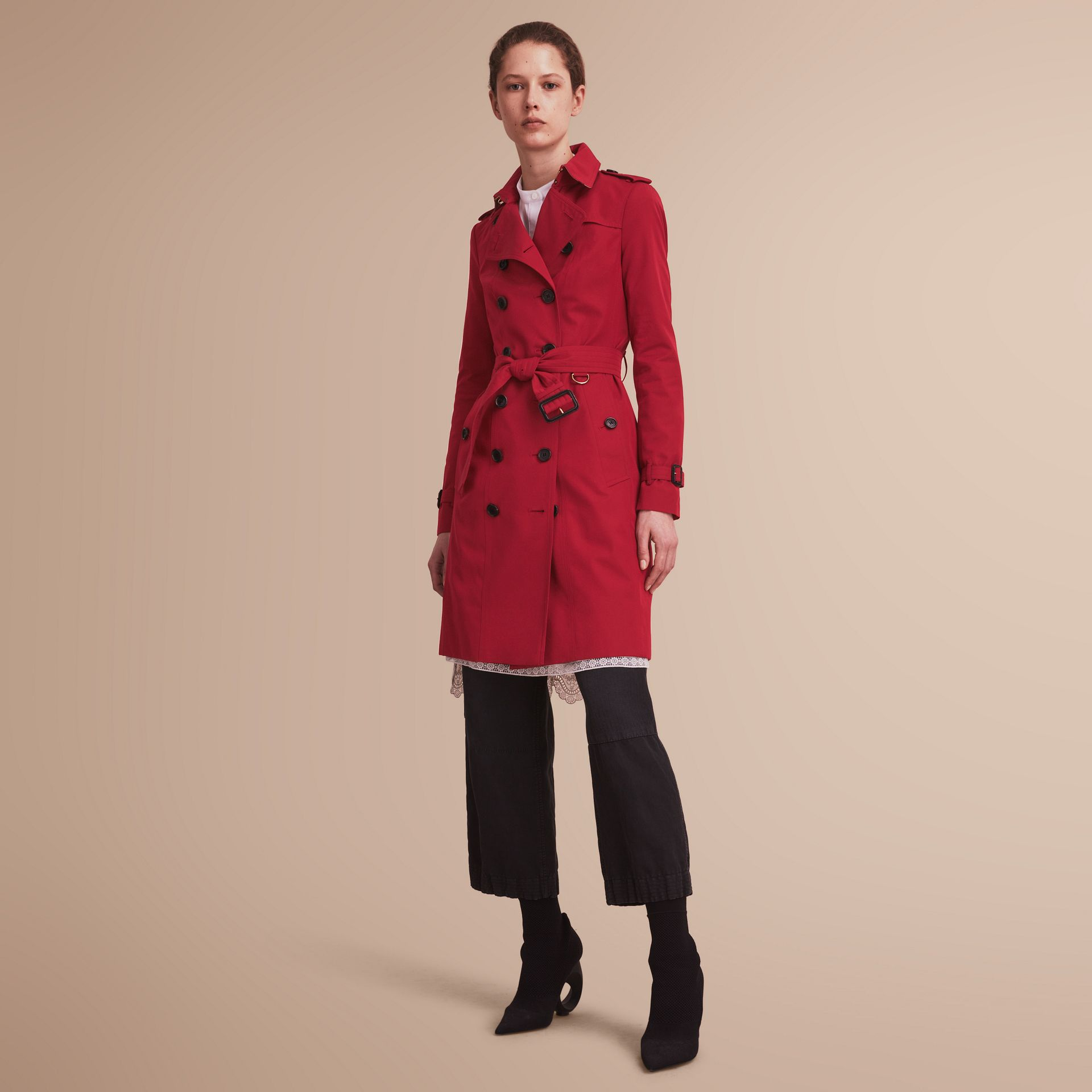 The Sandringham  – Long Heritage Trench Coat - gallery image 1